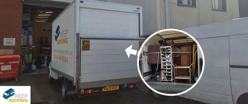 Enfield Lock removal van EN3
