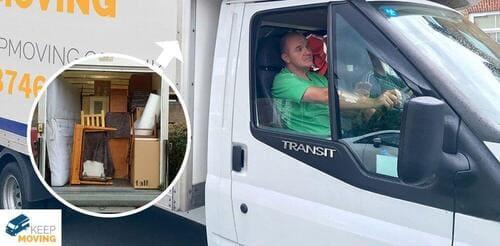 Gunnersbury man with a van W4