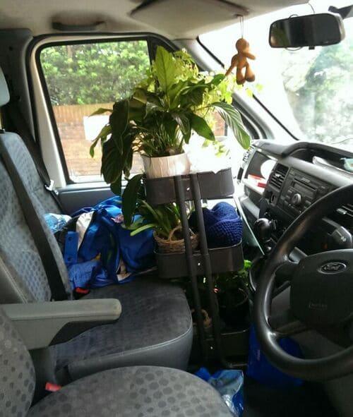 DA17 moving van rental Belvedere