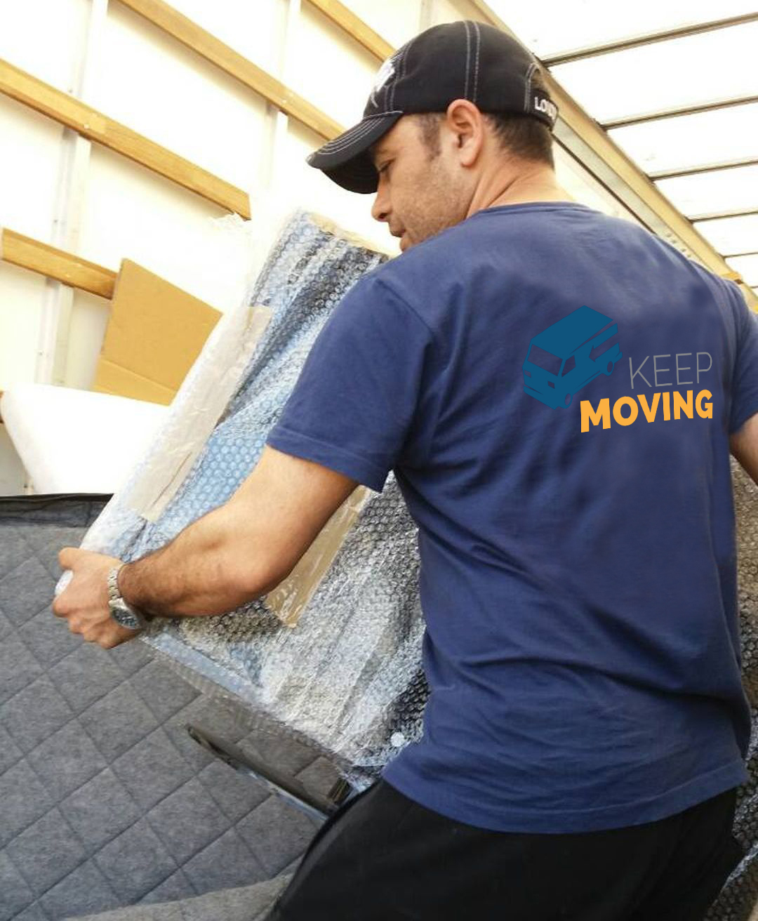 E4 moving service South Chingford