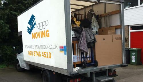 EC1 moving van rental St Luke's