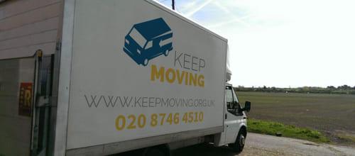 KT3 moving van rental Old Malden