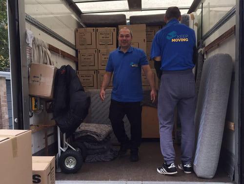 NW4 moving van rental Hendon