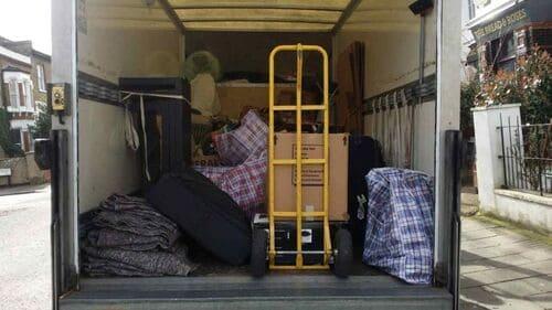 SE21 moving van rental Dulwich