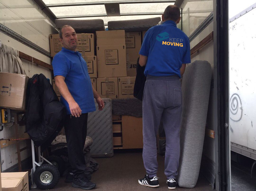 SG13 moving service Ware