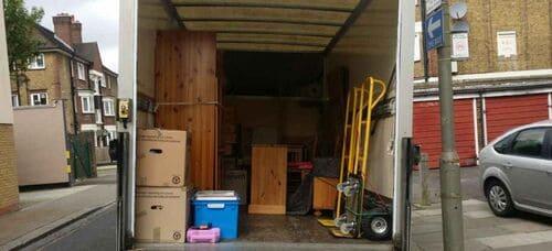 SW3 moving van rental Brompton
