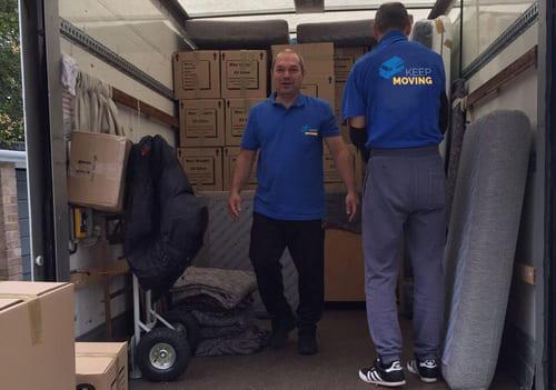 W1 moving service Marylebone