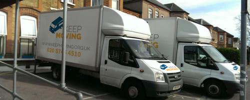 moving company in Aldborough Hatch