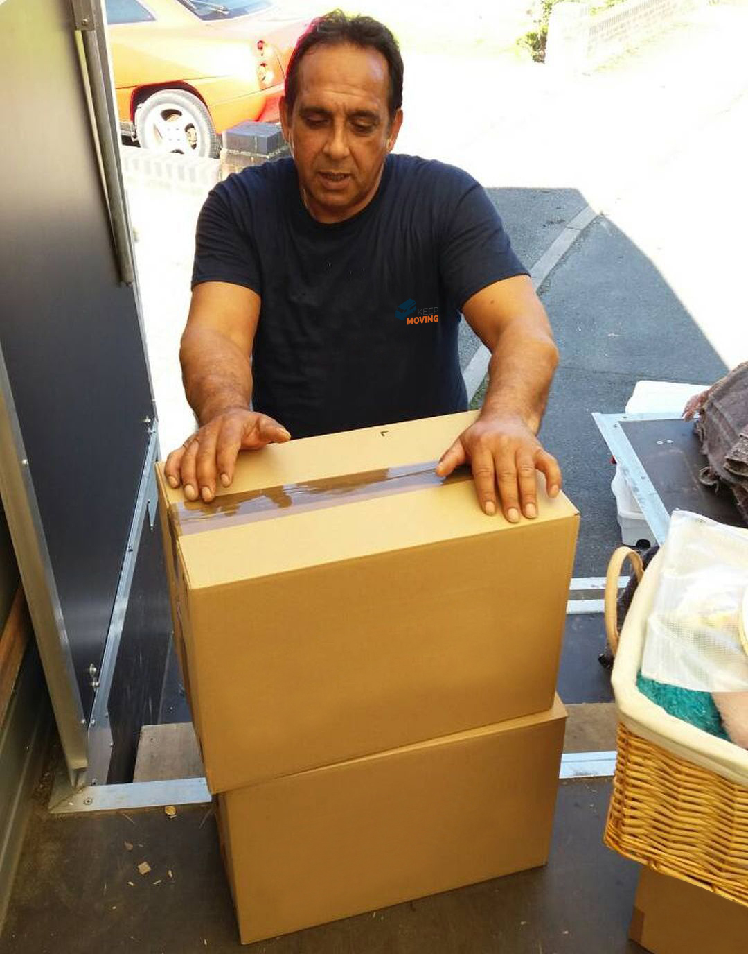 moving company in Banstead