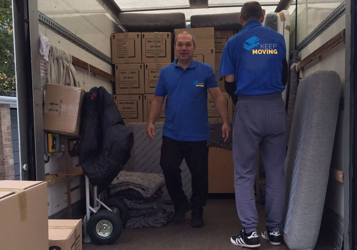 moving company in Sunbury
